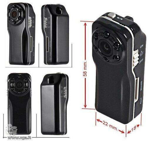 Slapta kamera su judesio detekcija