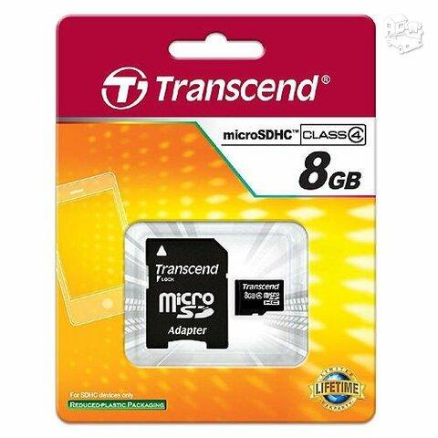 Transcend micro SD 8gb